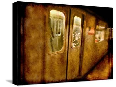 34 St Subway-Dale MacMillan-Stretched Canvas Print