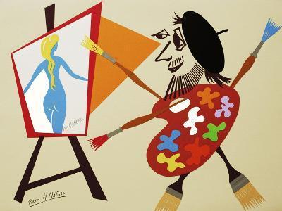 34CO-Pierre Henri Matisse-Giclee Print