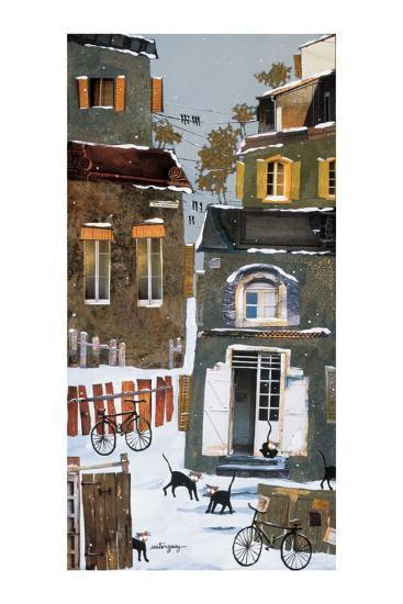 36 Fish Market Street-Claudette Castonguay-Art Print