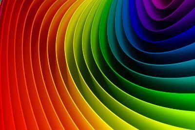 3D Colorful Background-Sashkin-Art Print