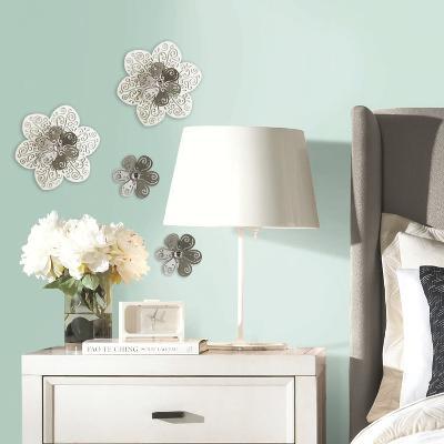 3D Cutout Flower Embellishments--Wall Decal