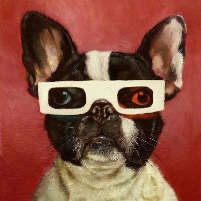 3D Dog-Lucia Heffernan-Art Print