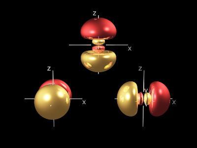 3p Electron Orbitals-Dr. Mark J.-Photographic Print