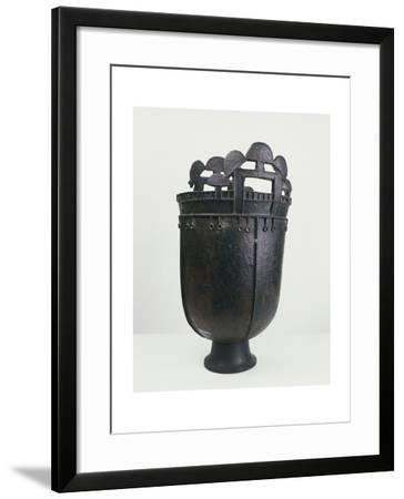 3rd-4th Century Bronze Kettle, Hun Civilization--Framed Giclee Print