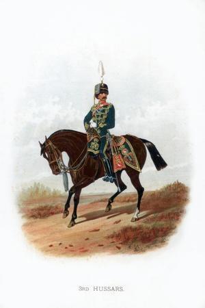 3rd Hussars, 1889--Giclee Print