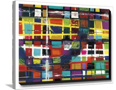 3rd Street Window-Dante Vida-Stretched Canvas Print
