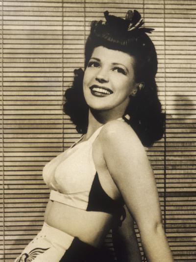 40s Hair Style and Bikini--Photographic Print