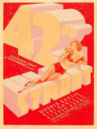 42nd Street, 1933--Art Print