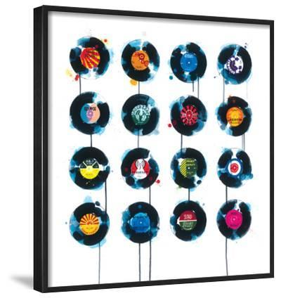 45rpm-James Paterson-Framed Giclee Print