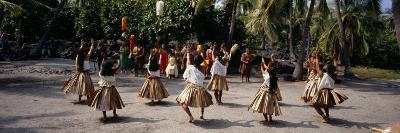 48th Annual Hawaiian Cultural Festival, Pu'uhonua O Honaunau National Historical Park, Hawaii--Photographic Print