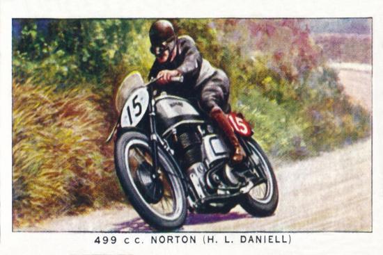 '499 C. C. Norton (H. L. Daniell)', 1938-Unknown-Giclee Print