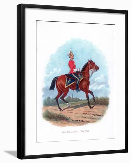 4th Dragoon Guards, 1888--Framed Giclee Print