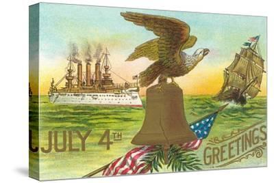 4th of July Greetings, Liberty Bell, Etc.