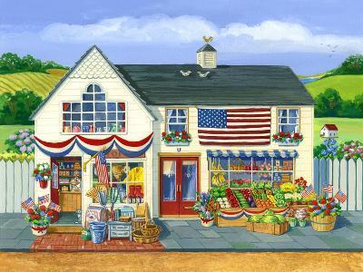 4th of July Market-Geraldine Aikman-Giclee Print