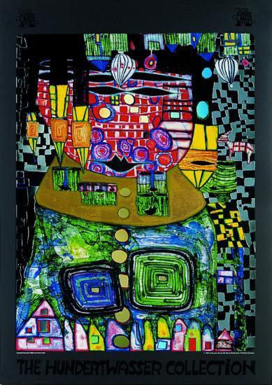 50.37-Friedensreich Hundertwasser-Art Print
