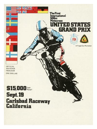 500cc Us Motocross Grand Prix Poster--Giclee Print