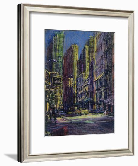 51st and Madison, New York City-Patti Mollica-Framed Giclee Print