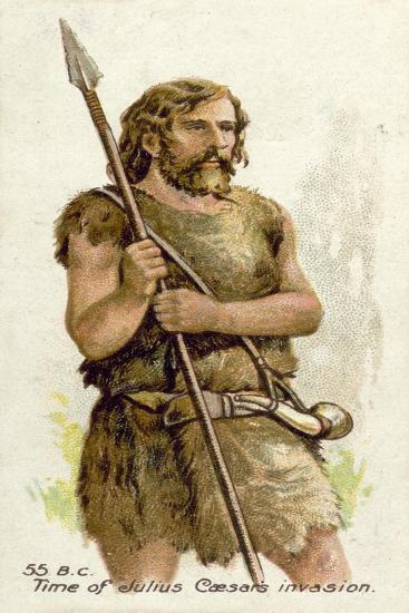 55 BC, Time of Julius Caesar's Invasion--Giclee Print