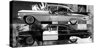 '59 IMPALA-Parker Greenfield-Stretched Canvas Print