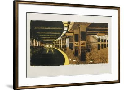 59 Th Street Subway-Colleen Browning-Framed Premium Edition