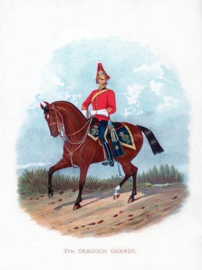 5th Dragoon Guards, 1888--Giclee Print