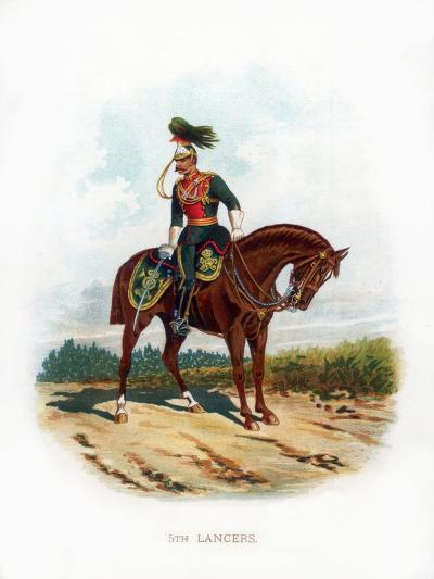 5th Lancers, 1889--Giclee Print