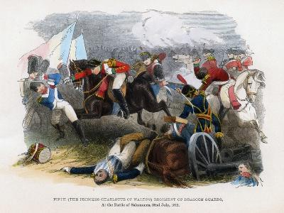 5th Regiment of Dragoon Guards, the Battle of Salamanca, 22nd July 1812--Giclee Print