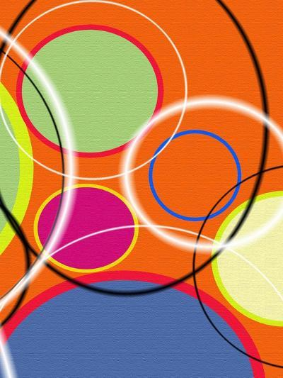 6 of 6 Abstract Art Retro Funk-Ricki Mountain-Art Print