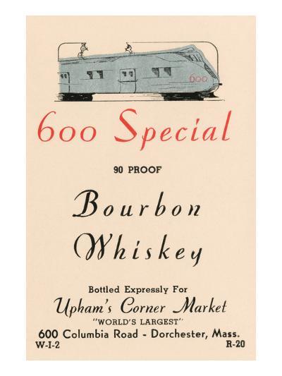 600 Special Bourbon Whiskey--Art Print