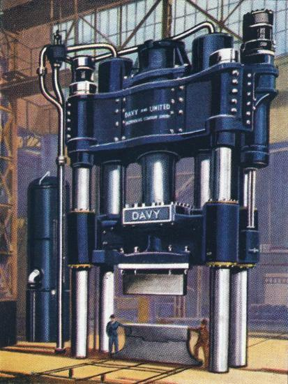 6000-ton forging press, 1938-Unknown-Giclee Print