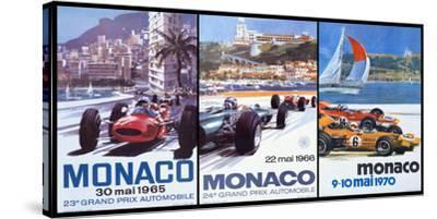 65, 66, 70 Monaco Grand Prix 3 in 1 Poster
