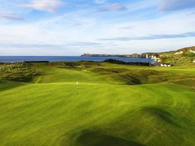 6th Hole Named Harry Colts at Royal Portrush Golf Club in Northern Ireland-Chris Hill-Photographic Print