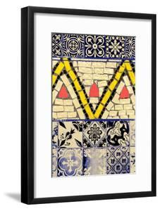 Tile Assemblage III by 7.0