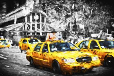 72 Taxis Station II - In the Style of Oil Painting-Philippe Hugonnard-Giclee Print