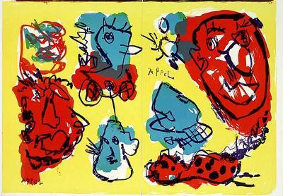 74-63 (One Cent Life)-Karel Appel-Collectable Print
