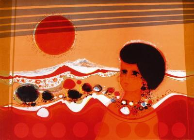 74 Femme Au Soleil-Fr?d?ric Menguy-Limited Edition
