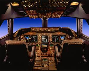 747-400 digital flight deck