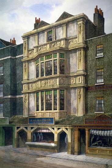 76 Aldgate High Street, London, C1860-JL Stewart-Giclee Print