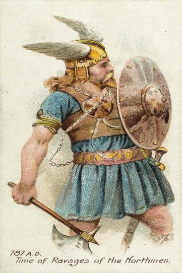 787 Ad, Time of Ravages of the Northmen--Giclee Print