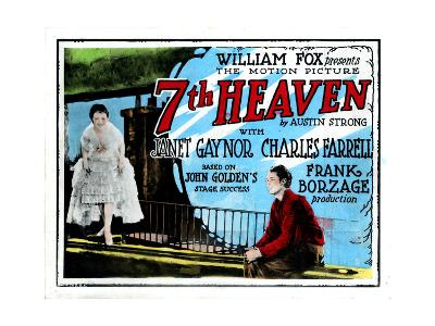 7th Heaven, (AKA Seventh Heaven), from Left, Janet Gaynor, Charles Farrell, 1927--Giclee Print