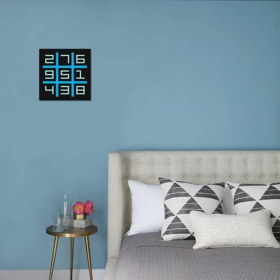 8-Bit Pixel Art Magic Square with Numbers 1-9 Art Print by wongstock ...