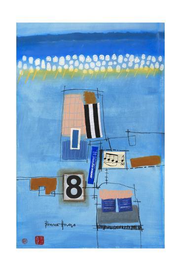 8. Musikstuck-Bruno Haas-Premium Giclee Print