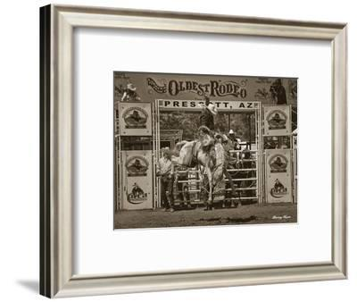 8 Seconds-Barry Hart-Framed Art Print