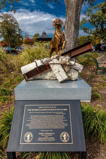 9/11 Memorial Eagle Rock Reservation in West Orange, New Jersey--Photographic Print