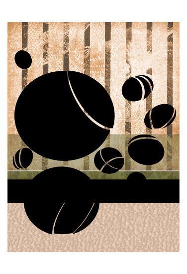 9 Ball-Tony Pazan-Art Print