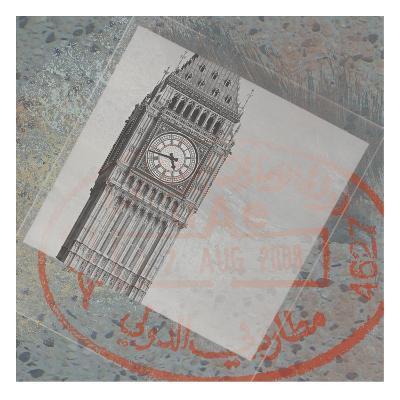 9 Boxes Travel-Lauren Gibbons-Art Print