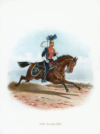 9th Lancers, 1889--Giclee Print