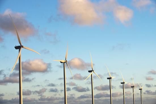 A 150 Feet Tall Wind Turbines Just Outside Arikok National Park-Mauricio Handler-Photographic Print
