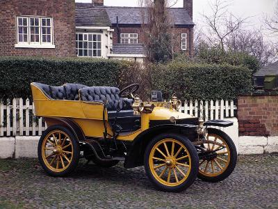 A 1903 Wolseley--Photographic Print