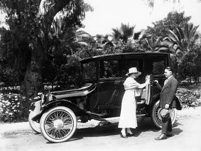 A 1916 Dodge 4, (1916)--Photographic Print